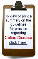 Download Celiac Guidelines for Practice